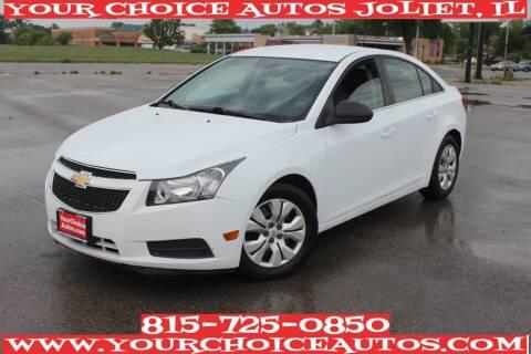 2012 Chevrolet Cruze for sale at Your Choice Autos - Joliet in Joliet IL