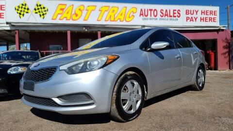 2014 Kia Forte for sale at Fast Trac Auto Sales in Phoenix AZ