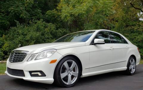 2011 Mercedes-Benz E-Class for sale at The Motor Collection in Columbus OH