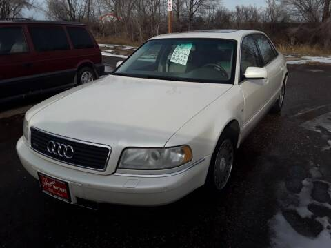 2002 Audi A8 L for sale at BARNES AUTO SALES in Mandan ND