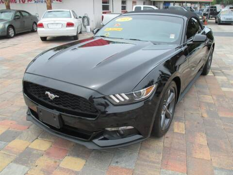 2015 Ford Mustang for sale at Affordable Auto Motors in Jacksonville FL