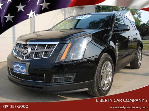 2012 Cadillac SRX for sale at Liberty Car Company - II in Waterloo IA
