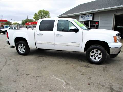2010 GMC Sierra 1500 for sale at Steffes Motors in Council Bluffs IA