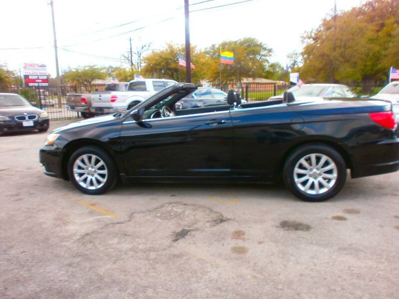 2011 Chrysler 200 Convertible for sale at Under Priced Auto Sales in Houston TX
