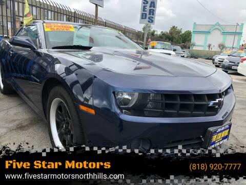2011 Chevrolet Camaro for sale at Five Star Motors in North Hills CA