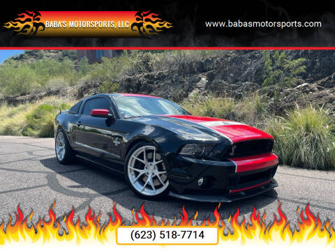 2013 Ford Shelby GT500 for sale at Baba's Motorsports, LLC in Phoenix AZ
