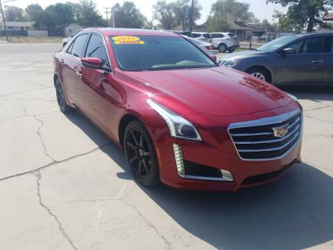 2015 Cadillac CTS for sale at CHURCHILL AUTO SALES in Fallon NV