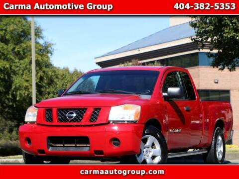 2008 Nissan Titan for sale at Carma Auto Group in Duluth GA