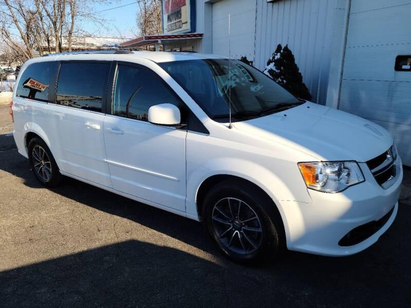 2017 Dodge Grand Caravan for sale at Van Kalker Motors in Grand Rapids MI