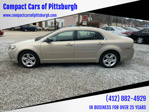 2009 Chevrolet Malibu for sale at Compact Cars of Pittsburgh in Pittsburgh PA
