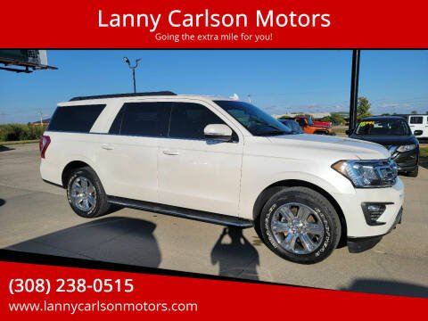 2019 Ford Expedition MAX for sale at Lanny Carlson Motors in Kearney NE