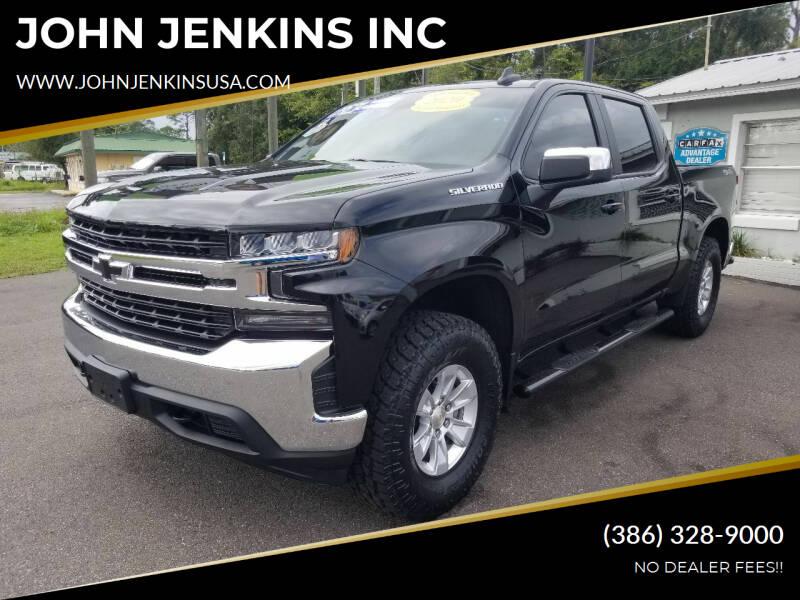 2020 Chevrolet Silverado 1500 for sale at JOHN JENKINS INC in Palatka FL