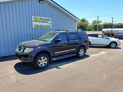 2012 Nissan Pathfinder for sale at MARIETTA MOTORS LLC in Marietta OH