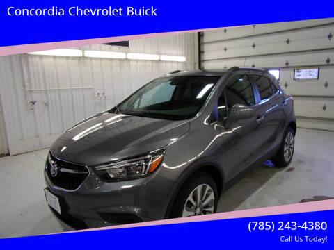 2020 Buick Encore for sale at Concordia Chevrolet Buick in Concordia KS