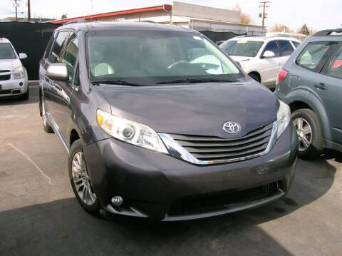 2012 Toyota Sienna for sale at Avalanche Auto Sales in Denver CO