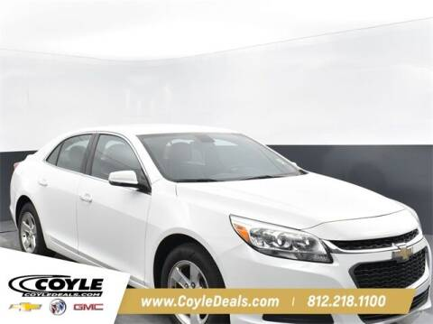 2016 Chevrolet Malibu Limited for sale at COYLE GM - COYLE NISSAN - New Inventory in Clarksville IN