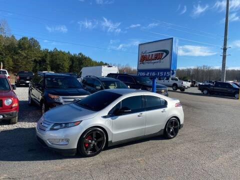 2014 Chevrolet Volt for sale at Billy Ballew Motorsports in Dawsonville GA
