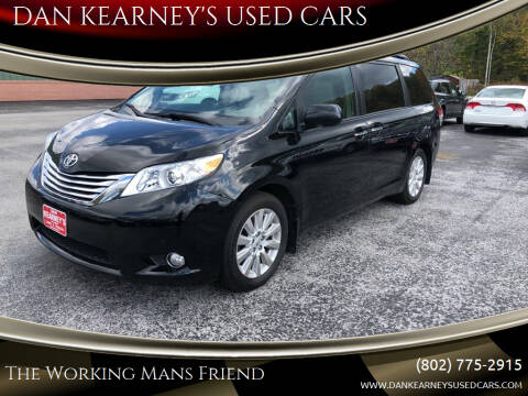 2011 Toyota Sienna for sale at DAN KEARNEY'S USED CARS in Center Rutland VT