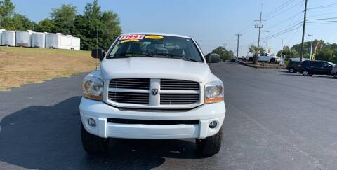 2006 Dodge Ram Pickup 1500 for sale at Rock 'n Roll Auto Sales in West Columbia SC