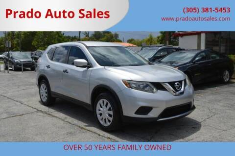 2016 Nissan Rogue for sale at Prado Auto Sales in Miami FL