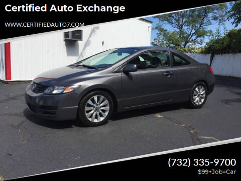 2010 Honda Civic for sale at Certified Auto Exchange in Keyport NJ
