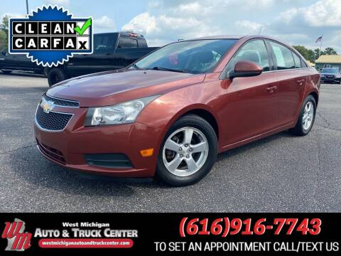 2013 Chevrolet Cruze for sale at West Michigan Auto and Truck Center in Cedar Springs MI