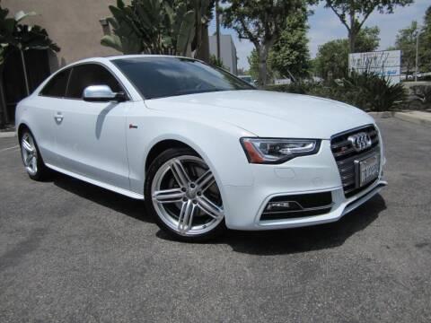 2014 Audi S5 for sale at ORANGE COUNTY AUTO WHOLESALE in Irvine CA