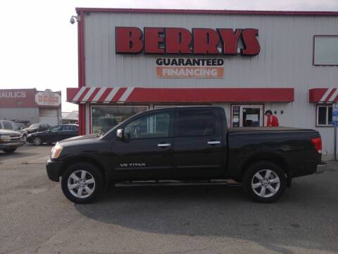 2008 Nissan Titan for sale at Berry's Cherries Auto in Billings MT
