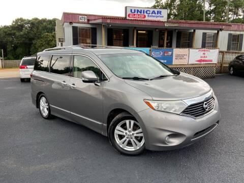 2011 Nissan Quest for sale at Unicar Enterprise in Lexington SC
