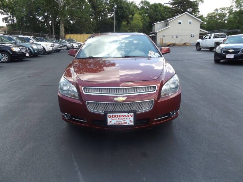 2011 Chevrolet Malibu for sale at Goodman Auto Sales in Lima OH