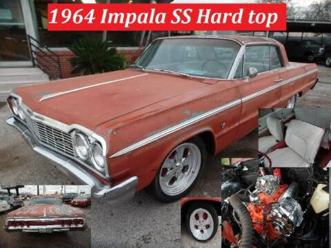 1964 Chevrolet impala super sport ss for sale at SARCO ENTERPRISE inc in Houston TX