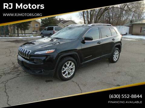 2015 Jeep Cherokee for sale at RJ Motors in Plano IL