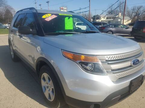 2013 Ford Explorer for sale at Kachar's Used Cars Inc in Monroe MI