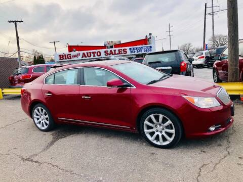 2010 Buick LaCrosse for sale at Big Three Auto Sales Inc. in Detroit MI