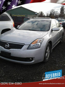 2008 Nissan Altima for sale at 2 Way Auto Sales in Spokane Valley WA
