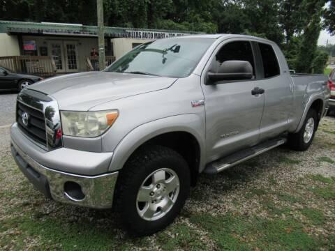 2007 Toyota Tundra for sale at Dallas Auto Mart in Dallas GA