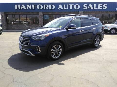 2017 Hyundai Santa Fe for sale at Hanford Auto Sales in Hanford CA