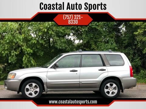 2004 Subaru Forester for sale at Coastal Auto Sports in Chesapeake VA