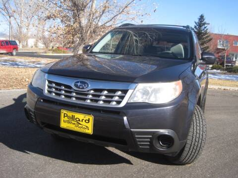 2012 Subaru Forester for sale at Pollard Brothers Motors in Montrose CO