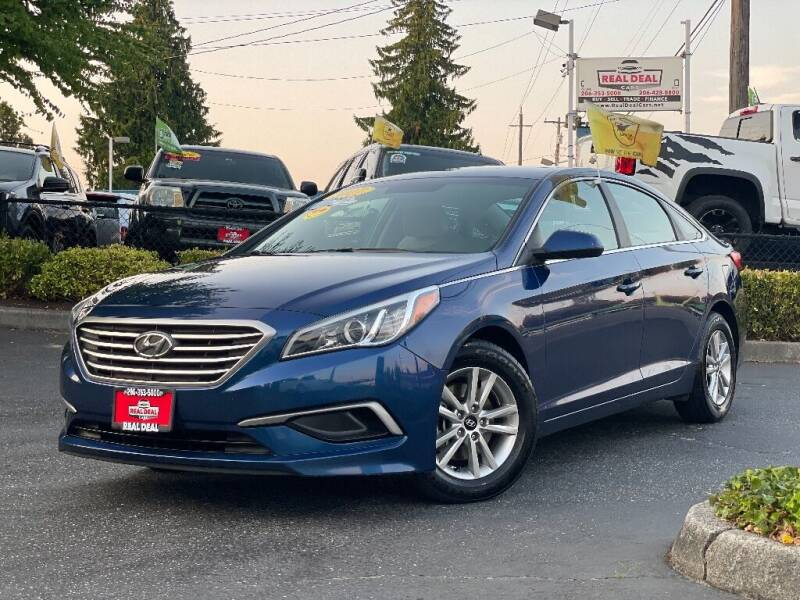 2017 Hyundai Sonata for sale at Real Deal Cars in Everett WA