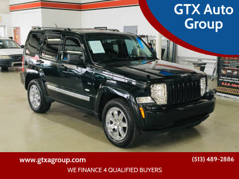 2012 Jeep Liberty for sale at GTX Auto Group in West Chester OH