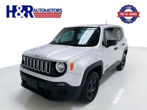 2018 Jeep Renegade for sale at H&R Auto Motors in San Antonio TX