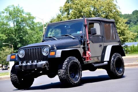 1998 Jeep Wrangler for sale at T CAR CARE INC in Philadelphia PA