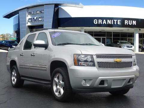 2011 Chevrolet Avalanche for sale at GRANITE RUN PRE OWNED CAR AND TRUCK OUTLET in Media PA