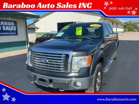 2010 Ford F-150 for sale at Baraboo Auto Sales INC in Baraboo WI