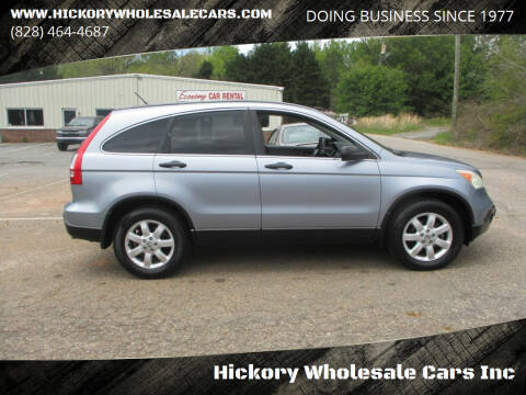 2007 Honda CR-V for sale at Hickory Wholesale Cars Inc in Newton NC
