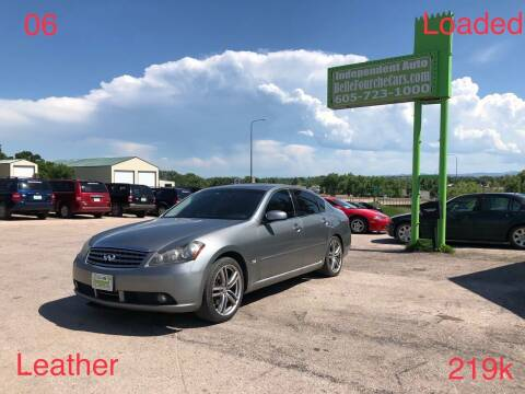 2006 Infiniti M35 for sale at Independent Auto in Belle Fourche SD