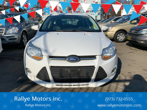 2014 Ford Focus for sale at Rallye  Motors inc. in Newark NJ