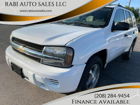 2008 Chevrolet TrailBlazer for sale at RABI AUTO SALES LLC in Garden City ID