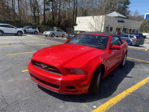 2014 Ford Mustang for sale at BRAVA AUTO BROKERS LLC in Clarkston GA